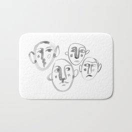 Familiar Strangers Bath Mat