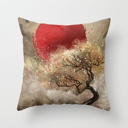 Iroha Throw Pillow