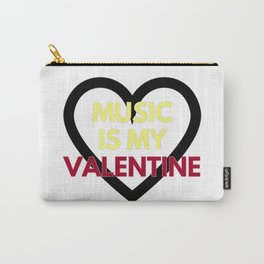 music is my valentine new 2018 14feb love heart Carry-All Pouch