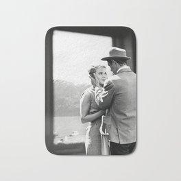 Collage À bout de souffle - Jean Luc Godard (1960) Bath Mat