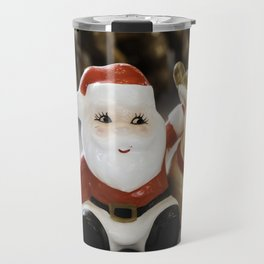 Santa and Rudolph Travel Mug