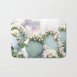 Spring Cactus Blossoms Bath Mat