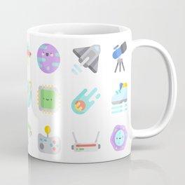 CUTE SCIENCE / SPACE / SCI-FI PATTERN Coffee Mug