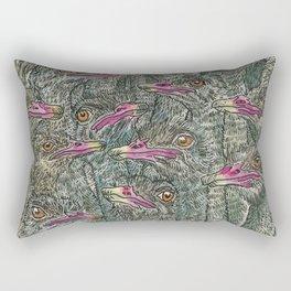 Ostriches Rectangular Pillow