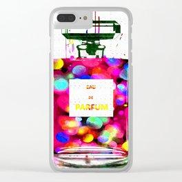 Eau de Parfum Bubbles Clear iPhone Case