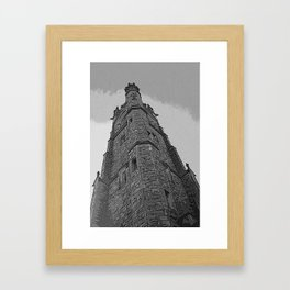 And Here Is The Steeple....... Framed Art Print