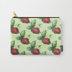 Strawberry Pattern- Strawberries fruits Carry-All Pouch