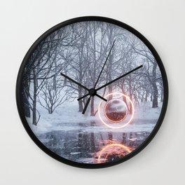 Q2x Wall Clock