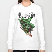 blood Long Sleeve T-shirts featuring blood by KillGorgons