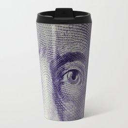Eyes of Sir MacDonald  Travel Mug