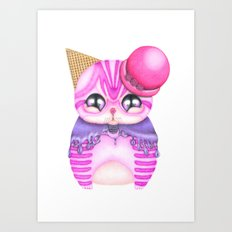 I Am Berry Cute! Art Print