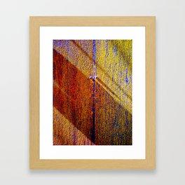 Morning, Texture Framed Art Print
