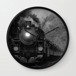 Lehigh Gorge Railroading Wall Clock