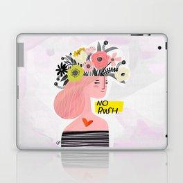 Crabby Dog: No Rush Laptop & iPad Skin