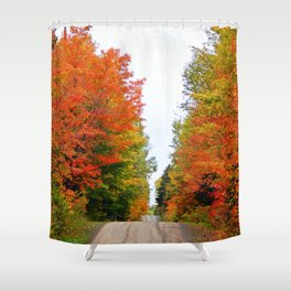 Hilly Shower Curtains