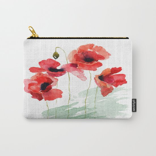 Poppies 01 Carry-All Pouch
