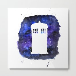 On Our Way to Gallifrey Metal Print