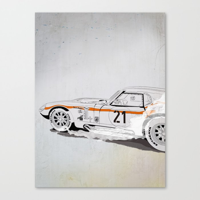 Daytona Coupe_recollection Canvas Print