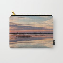 Sunrise over Biebrza river in Poland Carry-All Pouch