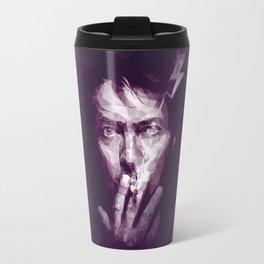 Starman - David Bowie Portrait Travel Mug