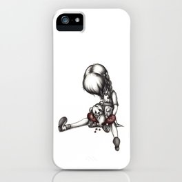 Heartbroken Little Girl iPhone Case