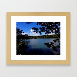 Afternoon at Grover place Framed Art Print