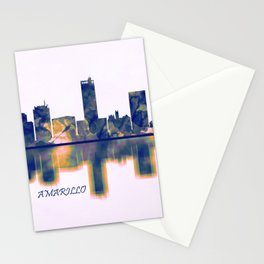 Amarillo Skyline Stationery Cards
