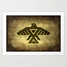 Thunder bird or Power bird Art Print