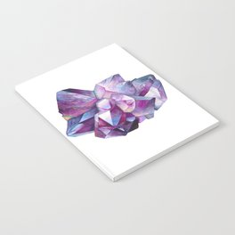 Amethyst Cluster Notebook