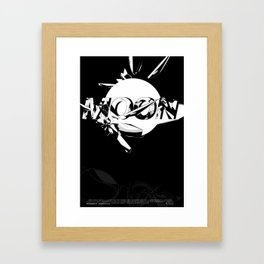 Moon Framed Art Print