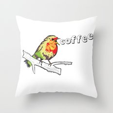 The Early Bird Catches the.... Throw Pillow