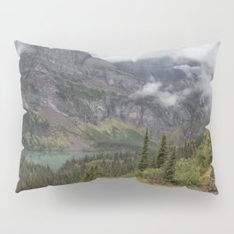 Grinnell Lake from the Trail No. 1 - Glacier NP Pillow Sham