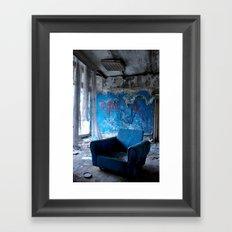 Abandoned place Framed Art Print