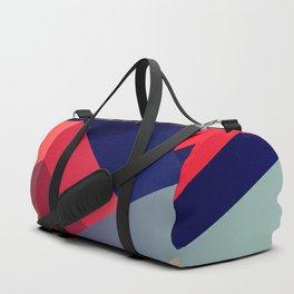 geometric abstract II Duffle Bag