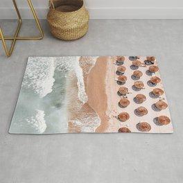 Aerial Beach Print, Beach Photography, Aerial Photography, Blue Ocean Print, Sea Beach Print Rug