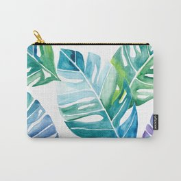 Monstera Leaves Carry-All Pouch