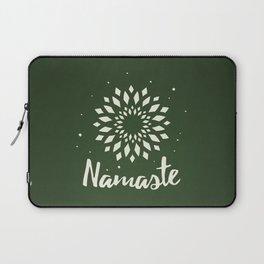 Namaste Mandala Flower Power Laptop Sleeve