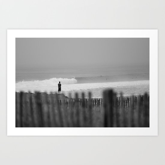 Morning. Brittany, France. Art Print