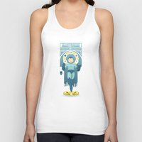 mega man Tank Tops featuring Mega Man by yoursocialghost