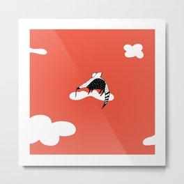 Flying Anteater by Amanda Jones Metal Print