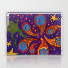 Space Frog batik Laptop & iPad Skin
