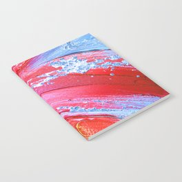 Acrylic Abstract on Canvas 3 Notebook