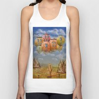home sweet home Tank Tops featuring Sweet Home by teddynash