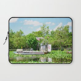 Everglades Safari Boat Laptop Sleeve