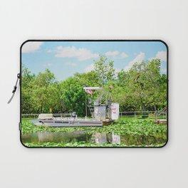 Everglades Safari Boat Laptop Sleeve