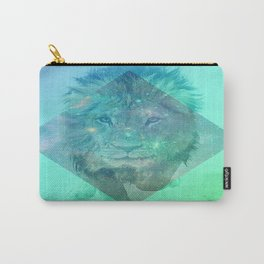 Galaxy dreaming Lion Carry-All Pouch
