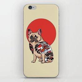 French Bulldog Yakuza iPhone Skin