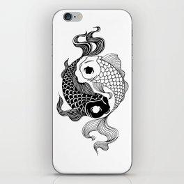 Yin Yang Tents iPhone Skin