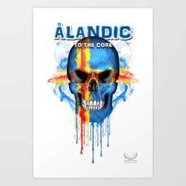 To The Core Collection: Aland Islands Art Print