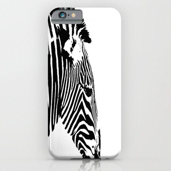 Zebra Portrait iPhone & iPod Case